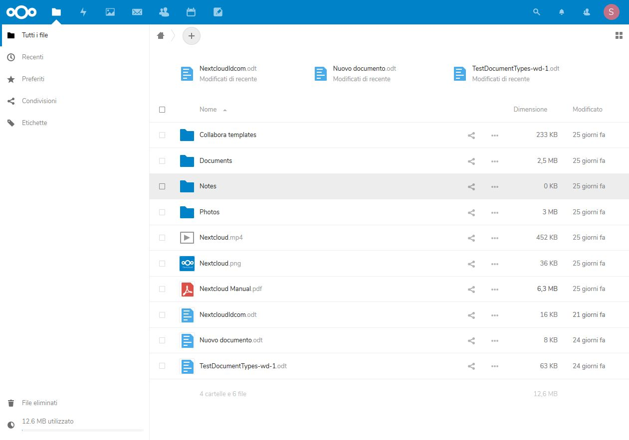 nextcloud manage
